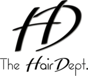 hair dept salon logo